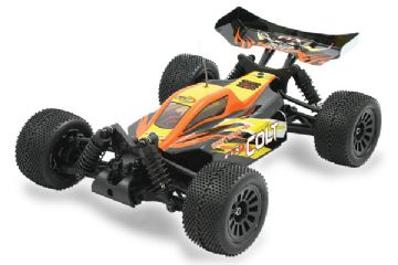 FTX5506 FTX Colt RTR 1/18th Scale 4wd Electric Off-Road Buggy - Black/Orange